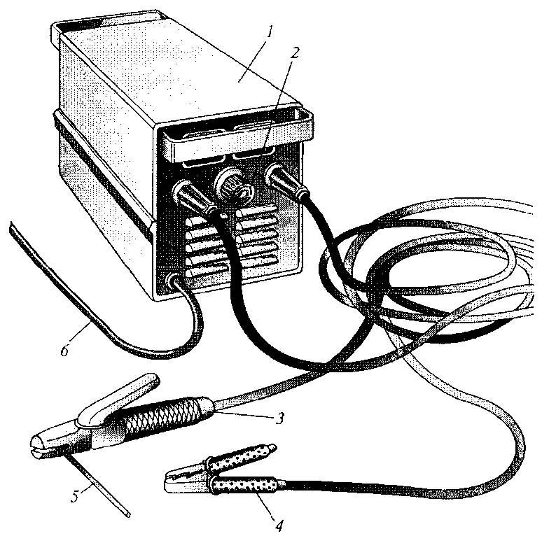 1 - сварочный трансформатор